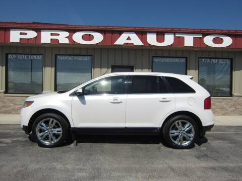 2014 Ford Edge for sale at Pro Auto Sales in Carroll IA