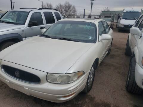 2003 Buick LeSabre for sale at PYRAMID MOTORS - Fountain Lot in Fountain CO