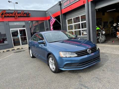 2017 Volkswagen Jetta for sale at Goodfella's  Motor Company in Tacoma WA