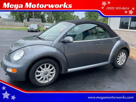 2005 Volkswagen New Beetle Convertible for sale at Mega Motorworks in Appleton WI