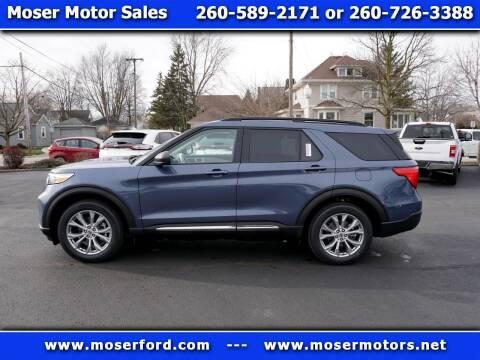 2021 Ford Explorer for sale at Moser Motors Of Portland in Portland IN