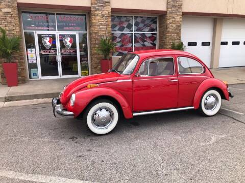 1973 Volkswagen Beetle for sale at Iconic Motors of Oklahoma City, LLC in Oklahoma City OK