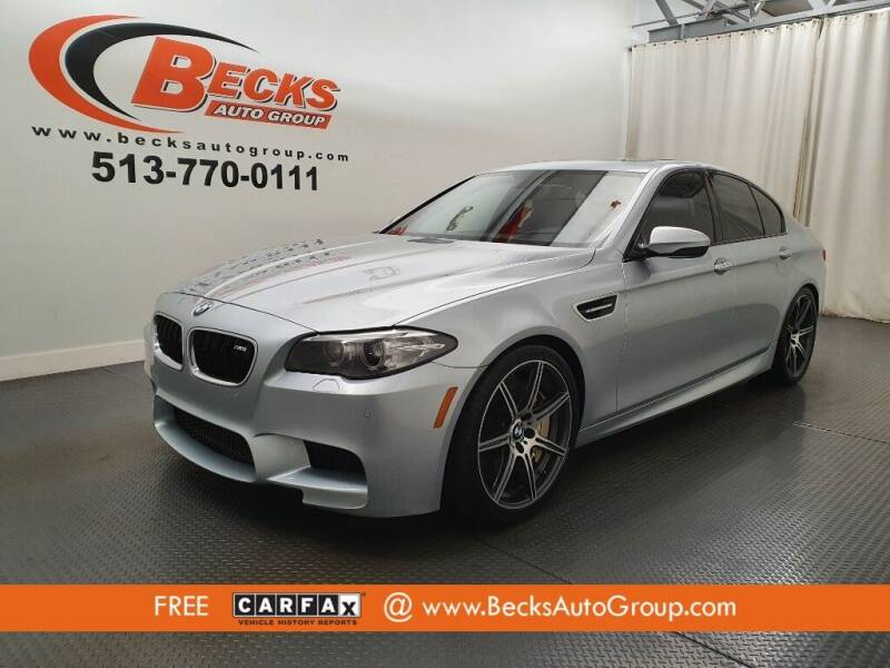 2014 BMW M5 for sale at Becks Auto Group in Mason OH