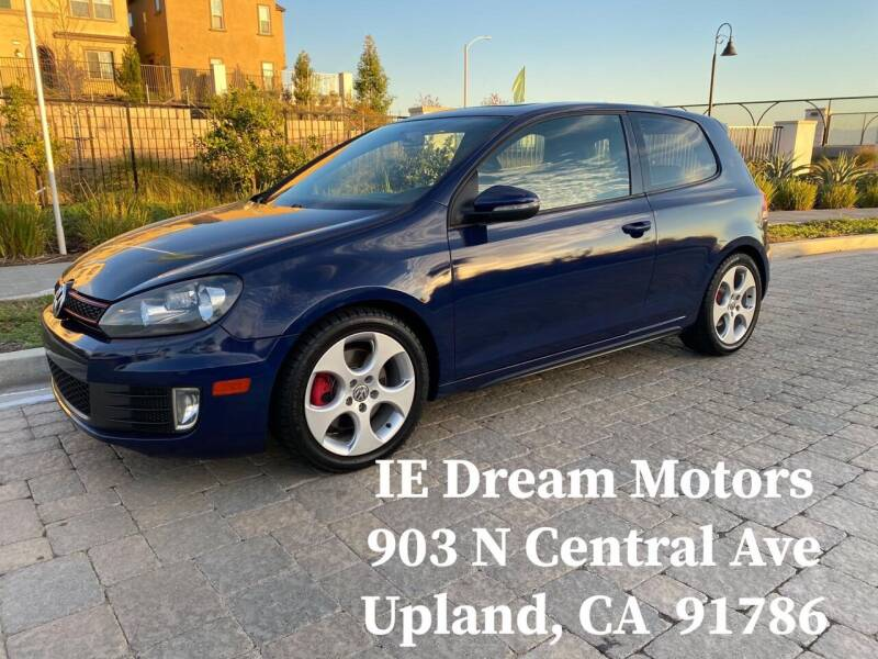 2010 Volkswagen GTI for sale at IE Dream Motors-Upland in Upland CA