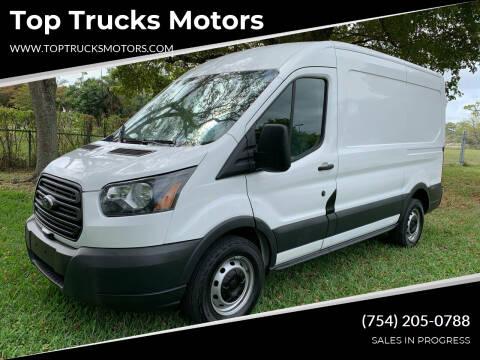 2017 Ford Transit Cargo for sale at Top Trucks Motors in Pompano Beach FL