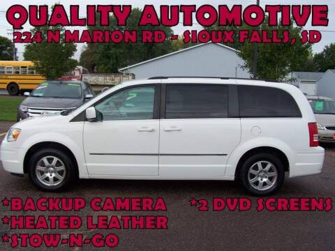 2010 Chrysler Town and Country for sale at Quality Automotive in Sioux Falls SD