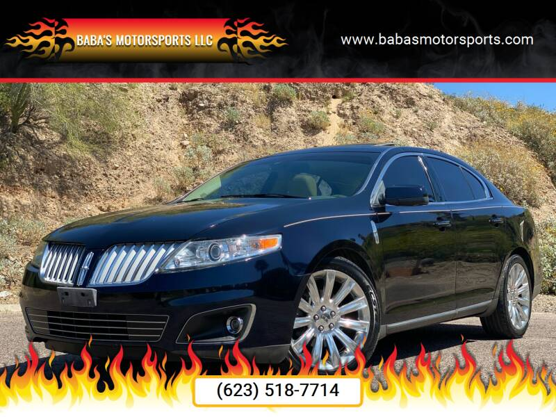 2009 Lincoln MKS for sale at Baba's Motorsports, LLC in Phoenix AZ
