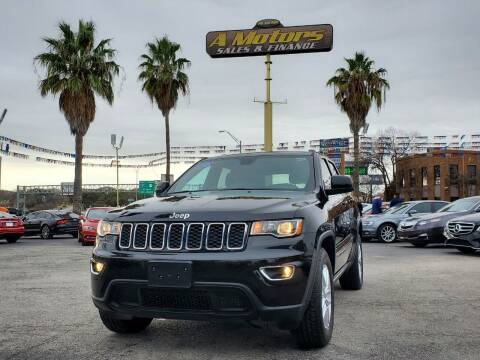 2017 Jeep Grand Cherokee for sale at A MOTORS SALES AND FINANCE - 6226 San Pedro Lot in San Antonio TX
