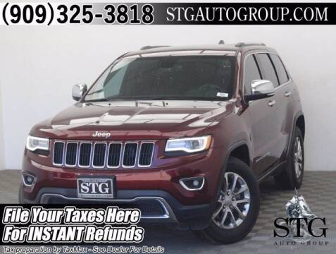 2016 Jeep Grand Cherokee for sale at STG Auto Group in Montclair CA