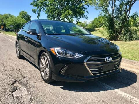 2017 Hyundai Elantra for sale at Texas Auto Trade Center in San Antonio TX