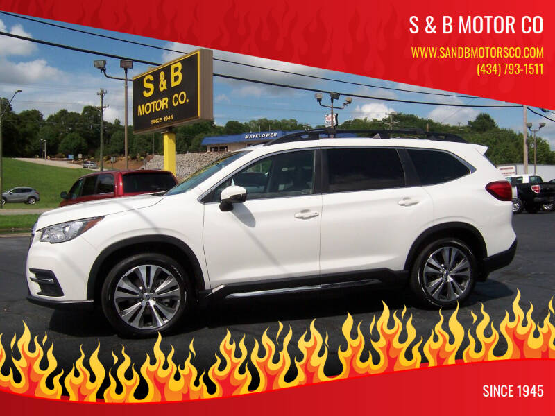 2020 Subaru Ascent for sale at S & B MOTOR CO in Danville VA