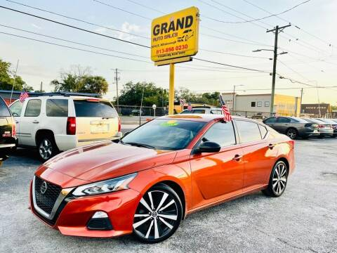 2020 Nissan Altima for sale at Grand Auto Sales in Tampa FL