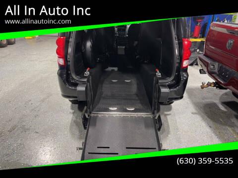 2016 Dodge Grand Caravan for sale at All In Auto Inc in Addison IL
