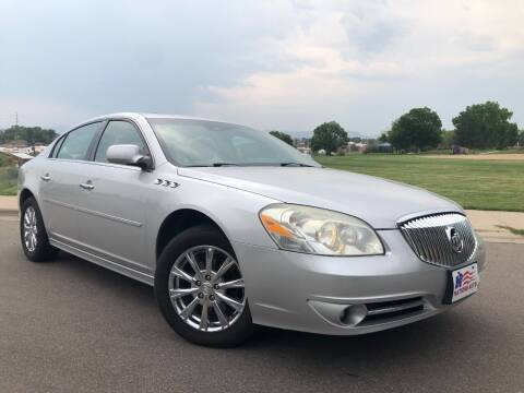 2011 Buick Lucerne for sale at Nations Auto in Lakewood CO
