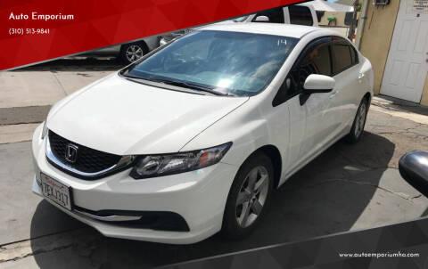2014 Honda Civic for sale at Auto Emporium in Wilmington CA