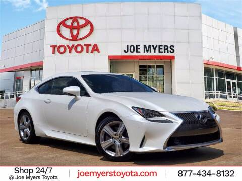 2015 Lexus RC 350 for sale at Joe Myers Toyota PreOwned in Houston TX