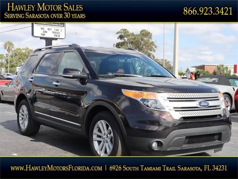 2014 Ford Explorer for sale at Hawley Motor Sales in Sarasota FL