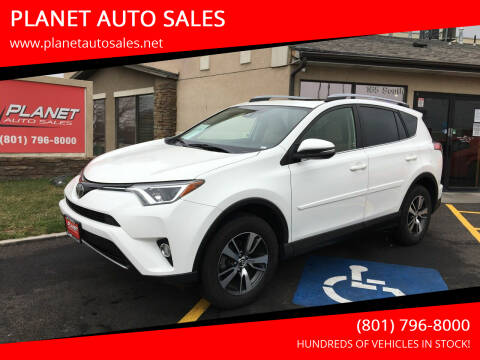 2017 Toyota RAV4 for sale at PLANET AUTO SALES in Lindon UT
