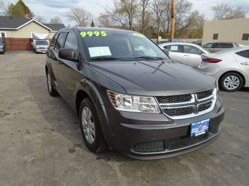 2015 Dodge Journey for sale at DISCOVER AUTO SALES in Racine WI