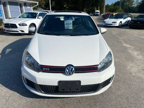 2010 Volkswagen GTI for sale at Galaxy Auto Sale in Fuquay Varina NC