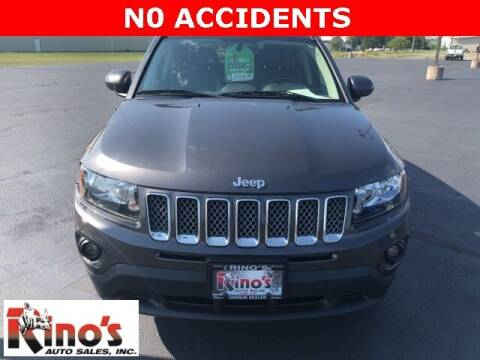 2017 Jeep Compass for sale at Rino's Auto Sales in Celina OH