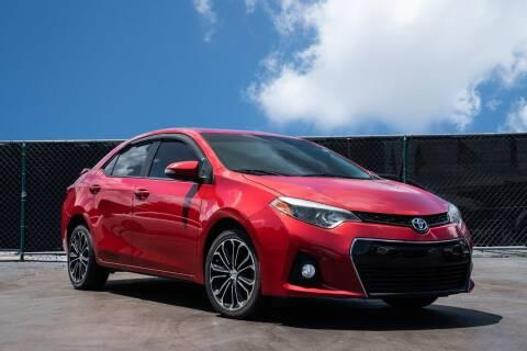 2015 Toyota Corolla for sale at MATRIX AUTO SALES INC in Miami FL