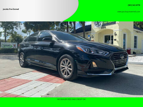 2018 Hyundai Sonata for sale at Jacobs Pre-Owned in Lake Worth FL