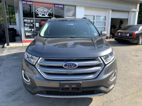 2017 Ford Edge for sale at SHARP CARS ROANOKE in Roanoke VA