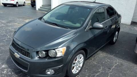 2013 Chevrolet Sonic for sale at AFFORDABLE AUTO SALES in We Finance Everyone! FL