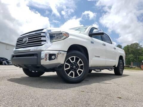 2018 Toyota Tundra for sale at Hardy Auto Resales in Dallas GA
