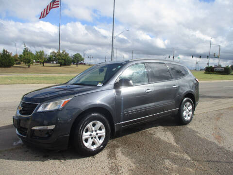 2014 Chevrolet Traverse for sale at BUZZZ MOTORS in Moore OK