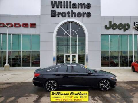 2018 Honda Accord for sale at Williams Brothers - Pre-Owned Monroe in Monroe MI