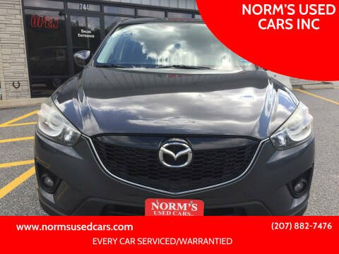 2015 Mazda CX-5 for sale at NORM'S USED CARS INC in Wiscasset ME
