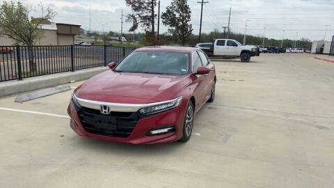2018 Honda Accord Hybrid for sale at FREDY KIA USED CARS in Houston TX