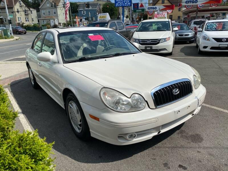 2003 Hyundai Sonata for sale at White River Auto Sales in New Rochelle NY