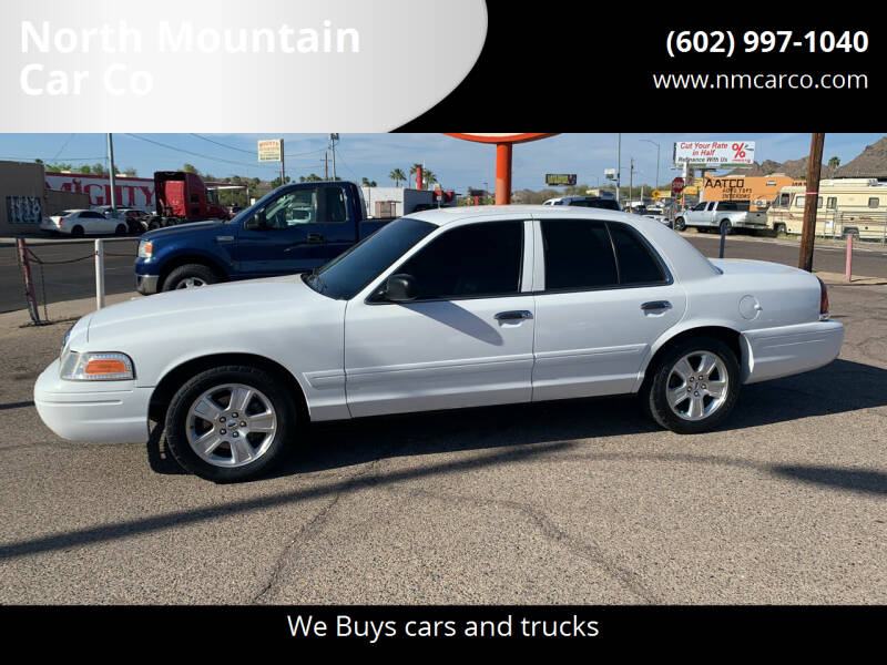 2008 Ford Crown Victoria for sale at North Mountain Car Co in Phoenix AZ