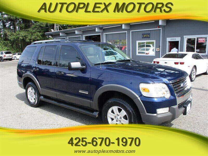 2006 Ford Explorer for sale at Autoplex Motors in Lynnwood WA