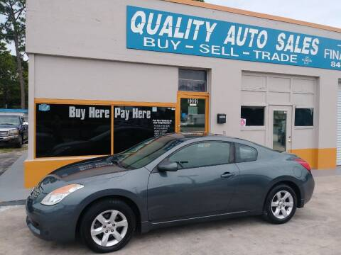 2008 Nissan Altima for sale at QUALITY AUTO SALES OF FLORIDA in New Port Richey FL