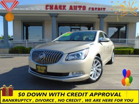 2016 Buick LaCrosse for sale at Chase Auto Credit in Oklahoma City OK