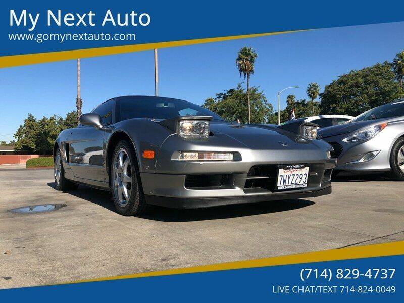 1997 Acura NSX for sale at My Next Auto in Anaheim CA