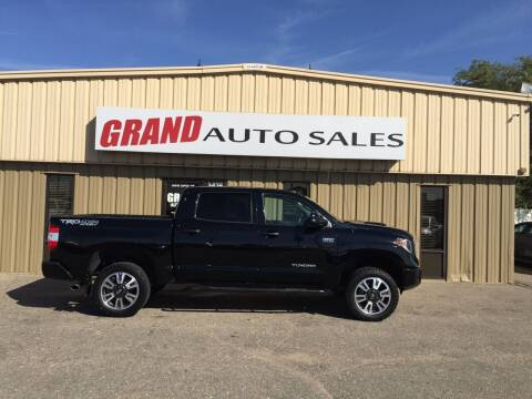 2018 Toyota Tundra for sale at GRAND AUTO SALES in Grand Island NE