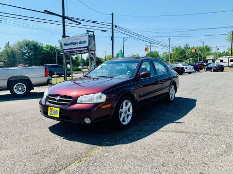 2000 Nissan Maxima for sale at New Wave Auto of Vineland in Vineland NJ