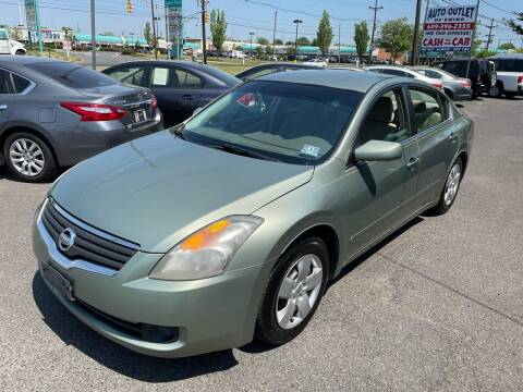 2007 Nissan Altima for sale at Wilson Investments LLC in Ewing NJ