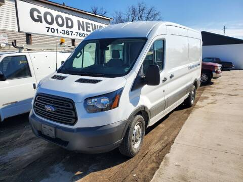 2018 Ford Transit Cargo for sale at GOOD NEWS AUTO SALES in Fargo ND