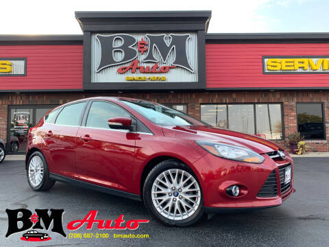 2013 Ford Focus for sale at B & M Auto Sales Inc. in Oak Forest IL