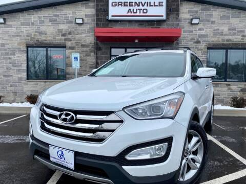 2013 Hyundai Santa Fe Sport for sale at GREENVILLE AUTO & RV in Greenville WI