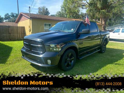 2018 RAM Ram Pickup 1500 for sale at Sheldon Motors in Tampa FL