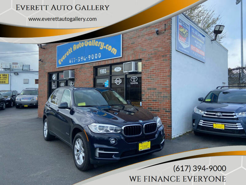 2015 BMW X5 for sale at Everett Auto Gallery in Everett MA