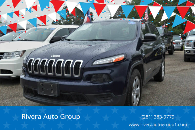 2016 Jeep Cherokee for sale at Rivera Auto Group in Spring TX