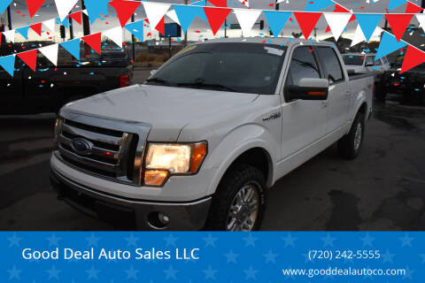 2012 Ford F-150 for sale at Good Deal Auto Sales LLC in Denver CO